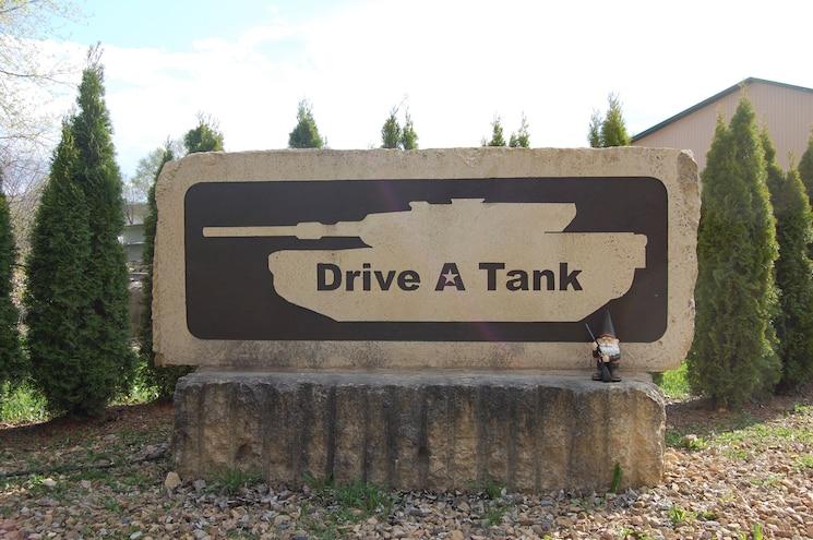 M4A2E8 Sherman Tank Drive A Tank