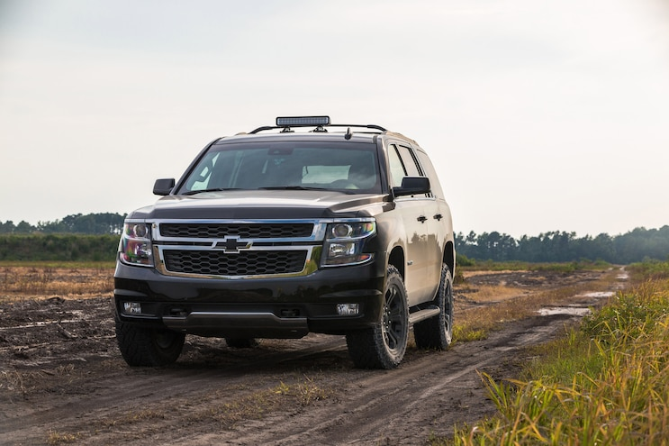 2017 Chevrolet Tahoe First Drive: Operation Midnight