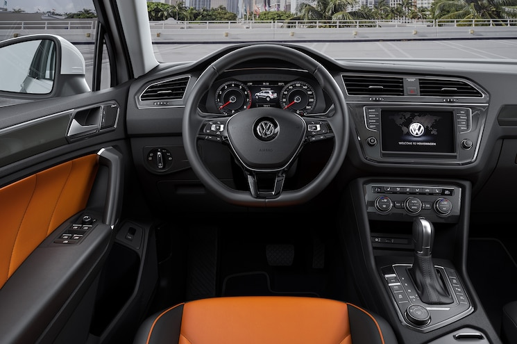 Euro Market Volkswagen Tiguan R Line Front Interior