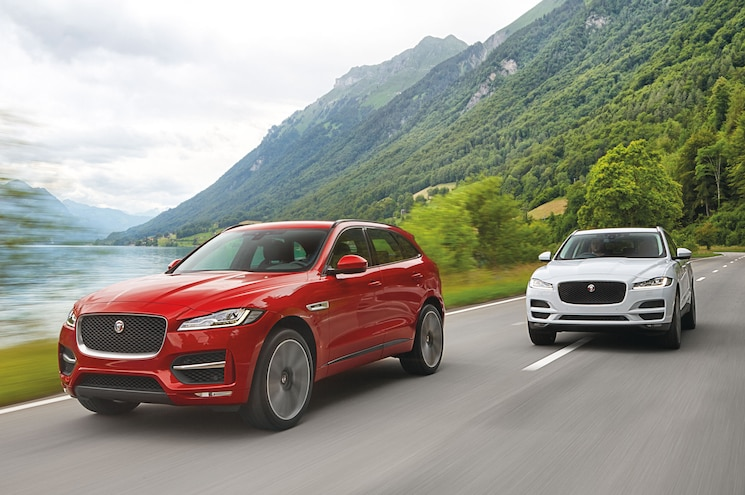 2017 Jaguar F Pace Front Three Quarter In Motion 09