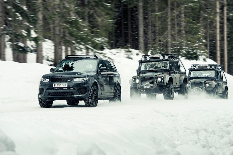 Jaguar Land Rover Bond Cars Get a Global Reveal