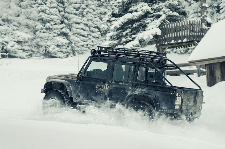 Land Rover Chase Scene From James Bond Spectre 05