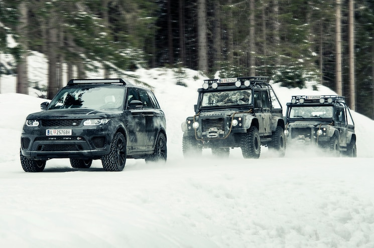 Land Rover Chase Scene From James Bond Spectre 06
