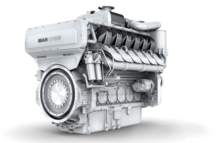 MAN 175D; Technology Driven Compact Marine Engine