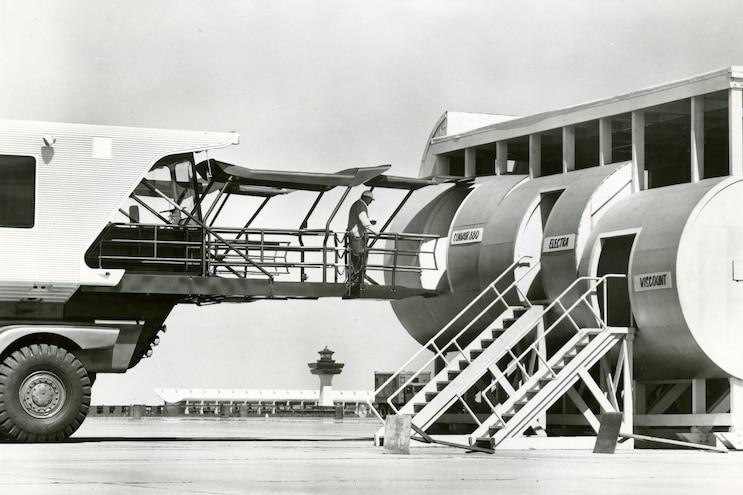 1962 Mobile Lounge Bridge