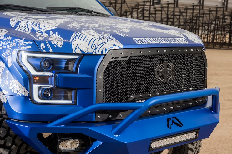 2016 Ford F150 Freedom Blues Grille