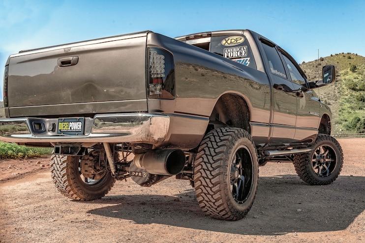 2004 Dodge Ram 3500 Diesel Power Challenge Competitor Bunkelman Rear