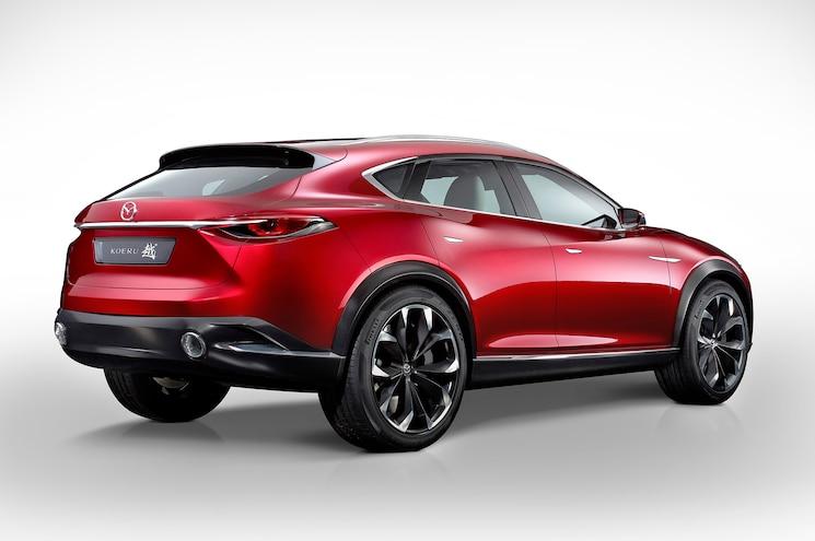 Mazda Koeru Lands in Frankfurt to Give Jaguar a Run for its Money