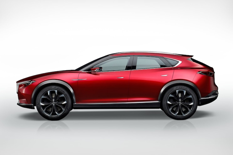 Mazda Koeru Concept Side Profile