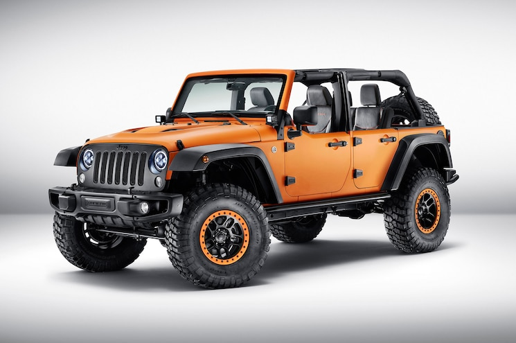 Jeep Shows Wrangler, Cherokee, Renegade Concepts in Frankfurt