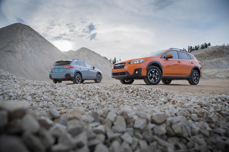 2018 Subaru Crosstrek Exterior Front Quarter Static 03