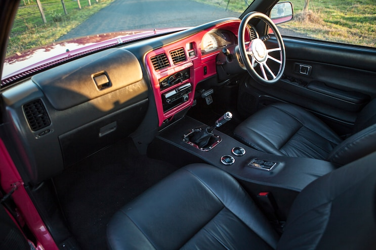 2000 Toyota Hilux Pink Taco Interior