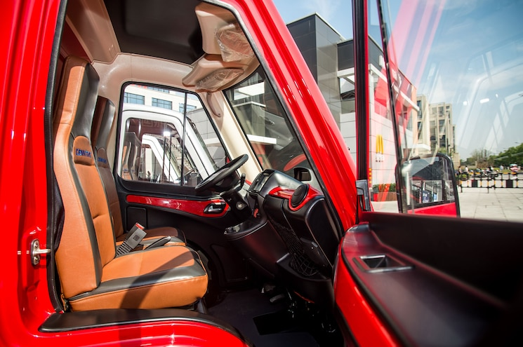 Cenntro Metro Interior Cockpit