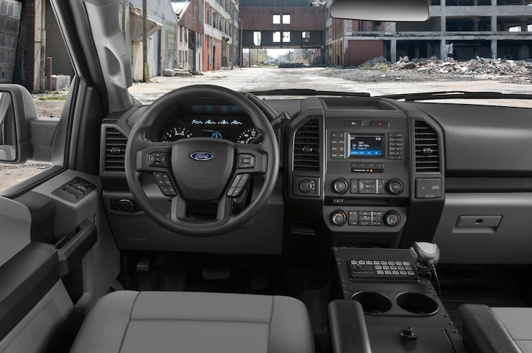 2018 Ford F 150 Police Responder Interior Dashboard