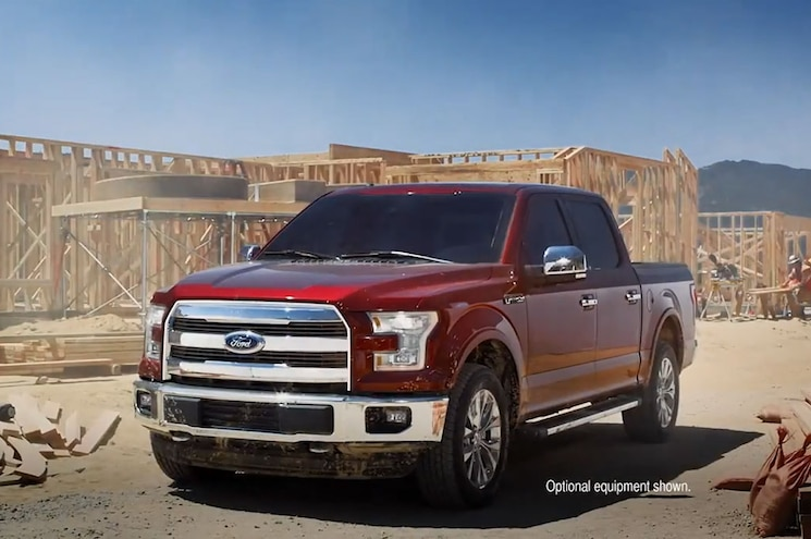 Ford Drops Two New F-150 Ads During NFL Games Sunday