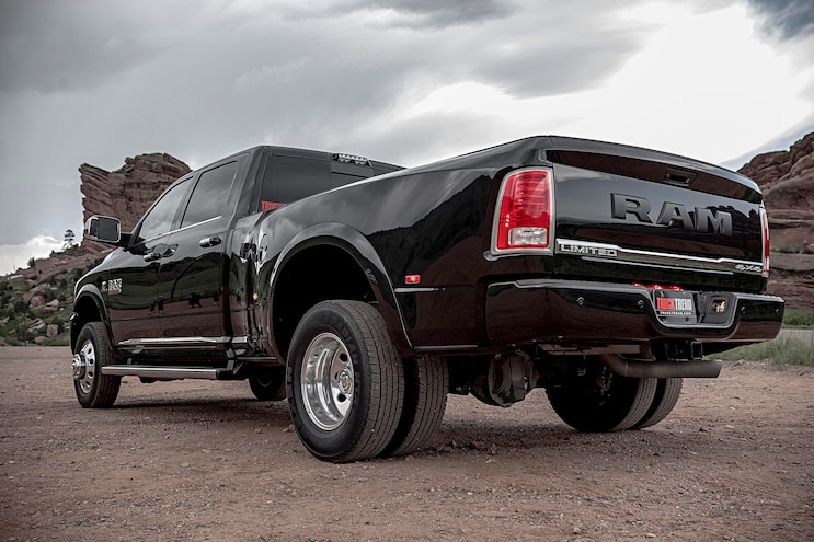 1 Ton Challenge Competitors Ram 3500 Limited Rear