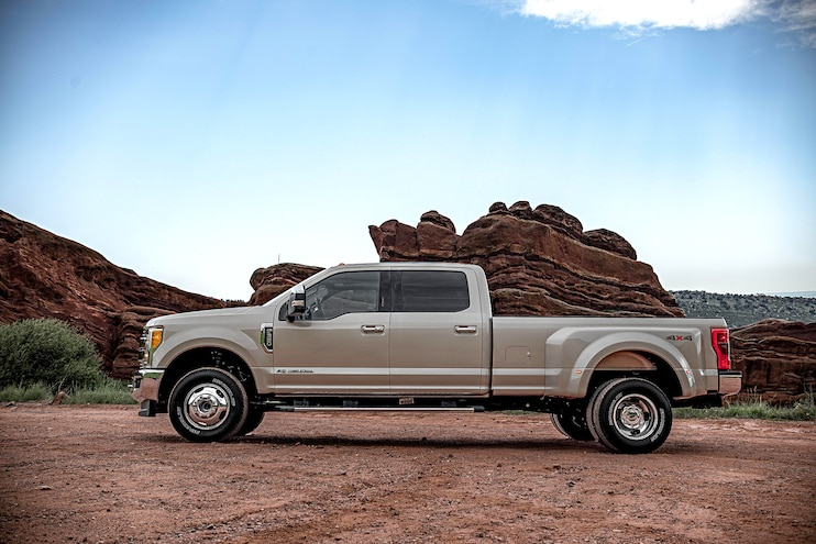 1 Ton Challenge Competitors Ford F350 Side
