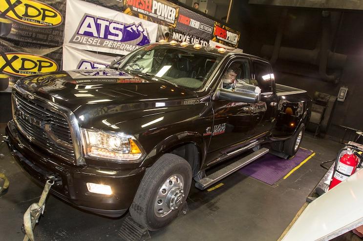 1 Ton Challenge Fuel Economy Dyno Ram