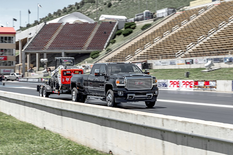 1 Ton Challenge Eighth Mile Trailer Tow GMC