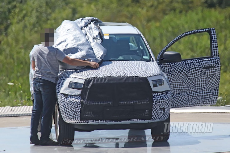 SPIED: 2019 Ford Ranger Regular Cab