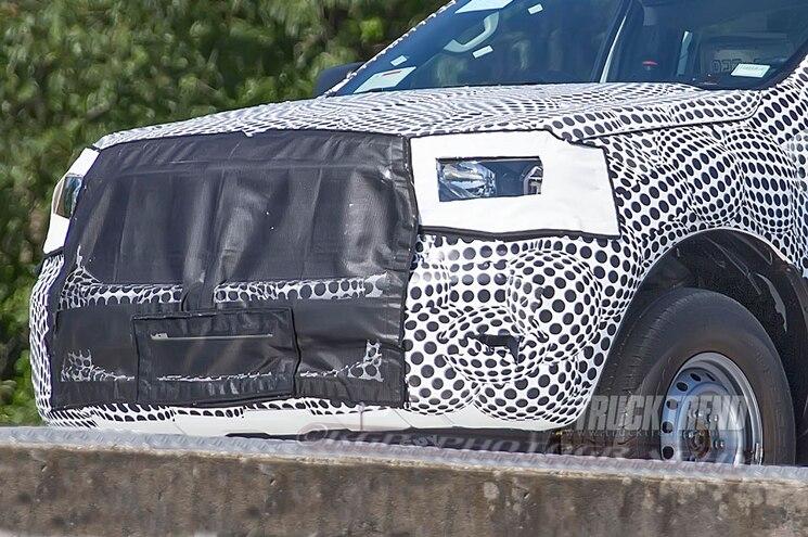 2019 Ford Ranger Front Fascia