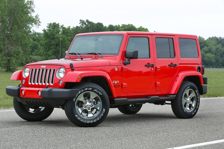 2016 Jeep Wrangler Front Three Quarter