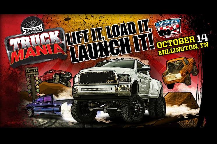 Registration Link: Truck Mania on October 14 at Memphis International Raceway