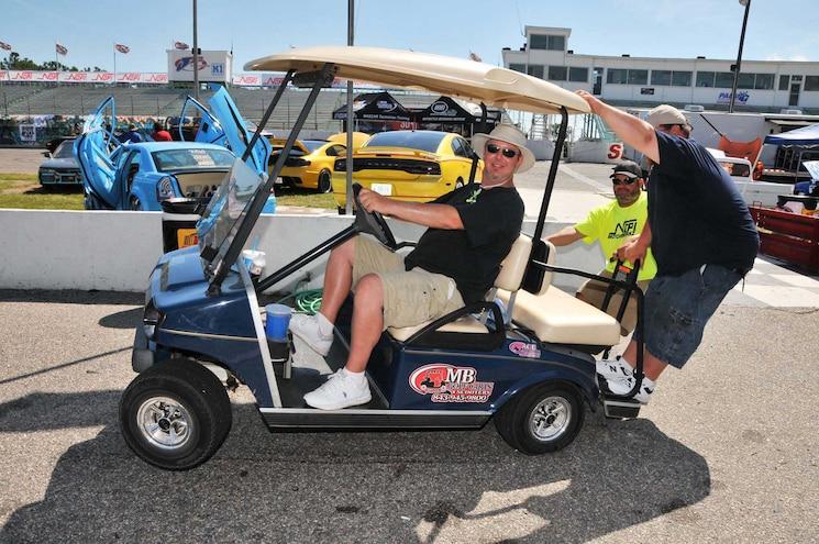 2015 Nopi Show Golf Cart Wheelie