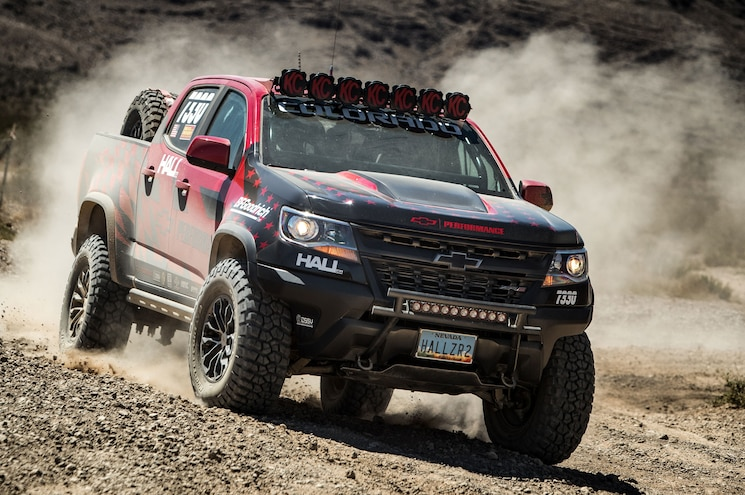 2017 Chevrolet Colorado Zr2 Best In The Desert Front Quarter