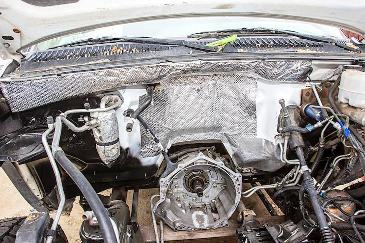 008 Engine Bay Heat Shielding