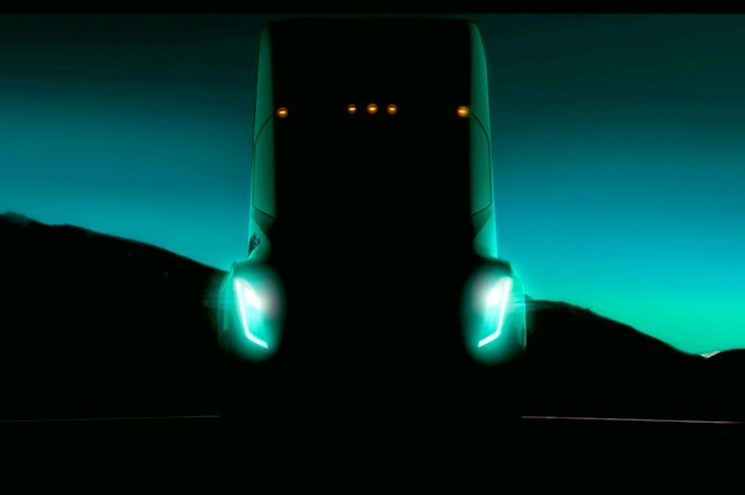 Upcoming Tesla Big Rig to Span 200–300 Miles Between Charges