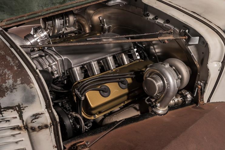 1947 Dodge Quick Brick Engine