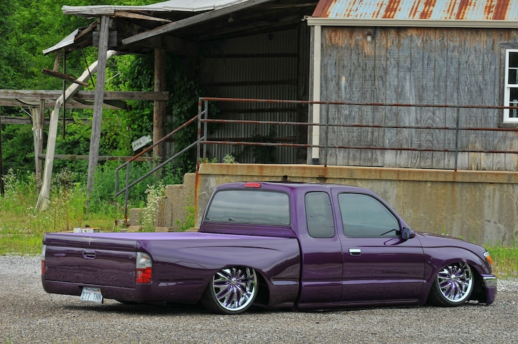 2000 Toyota Tacoma Purplexed Rear