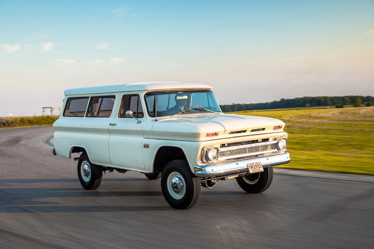 Evolution Of The Suburban 1966