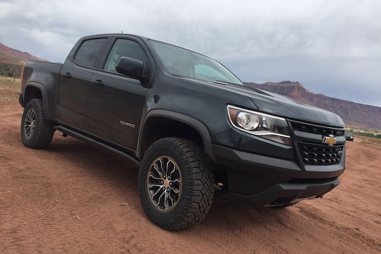 Particulate Matters 2017 Colorado ZR2 Front