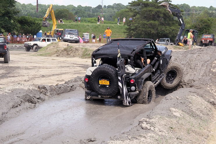 OCJeepWeek Jeep Jam Mud Obstacle