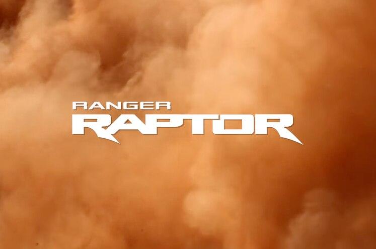 2019 Ford Ranger Raptor Teaser Logo