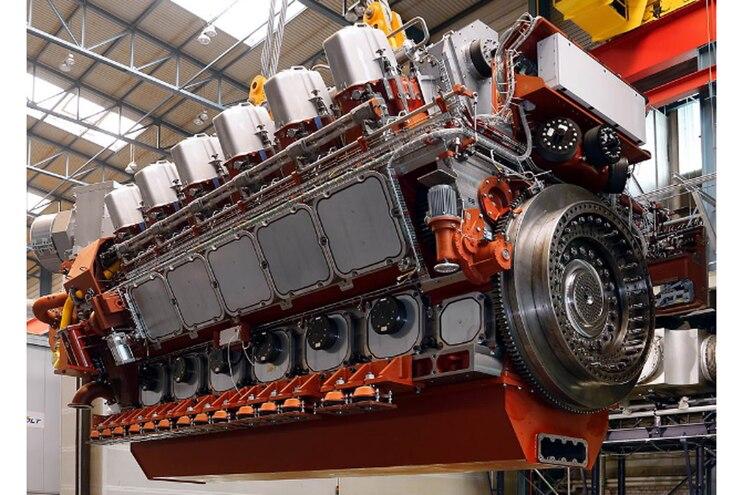 MaK VM 46 DF; Dual Fuels Lower Emissions