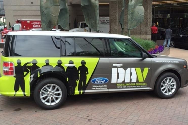 Auto News 8 Lug Work Truck Ford Flex Dav Transportation Fleet