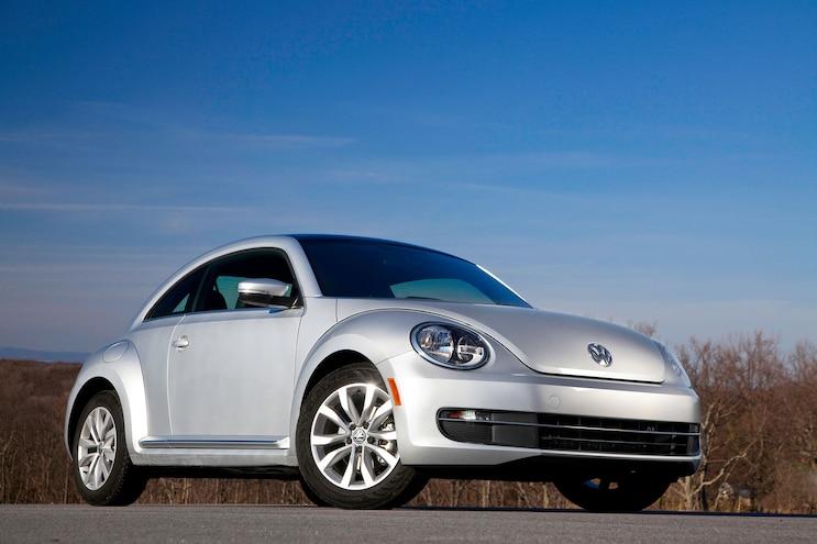 2014 Volkswagen Beetle TDI Front Low