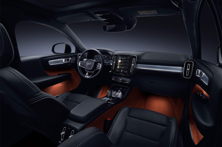 2018 Volvo Xc40 Interior Dashboard Wide