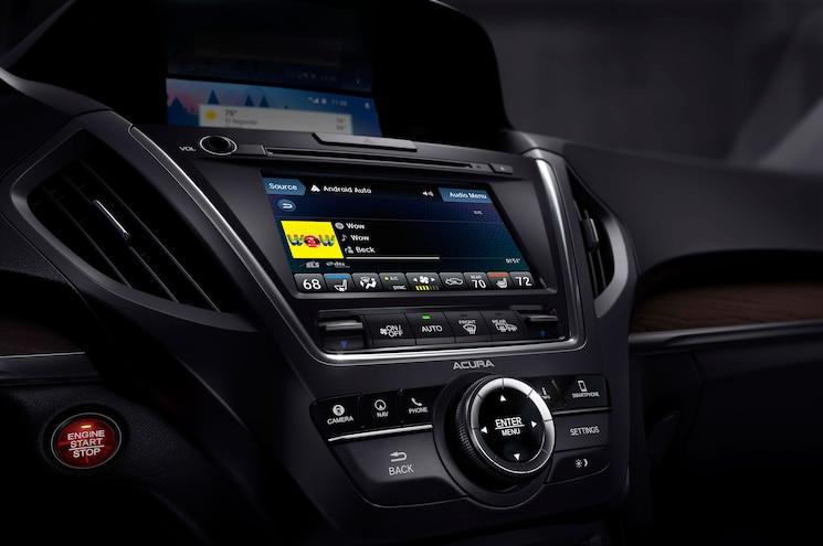 2018 Acura Mdx Advance Infotainment Audio Touchscreen