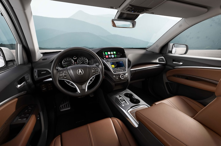 2018 Acura Mdx Advance Interior
