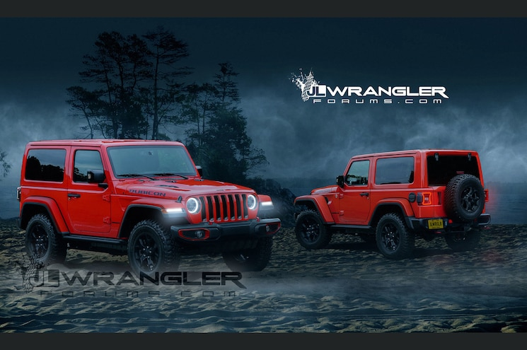 2018 Jeep Wrangler JL to Get 368hp Turbo Four, According to Document Leak