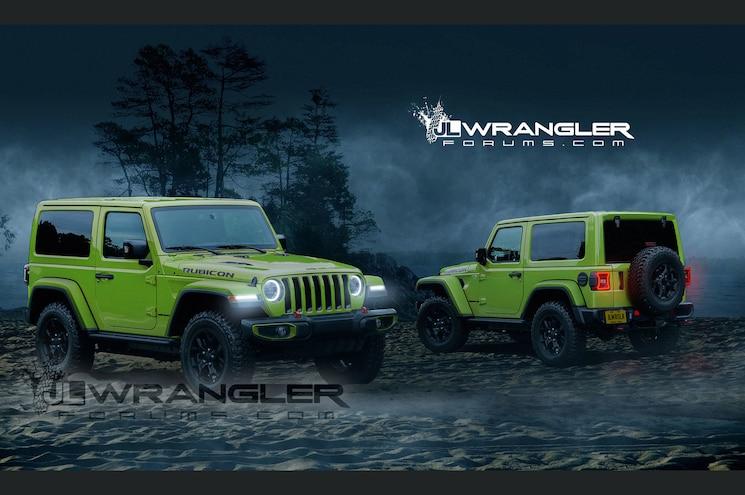 Dreaming of the Wrangler JL in Digital