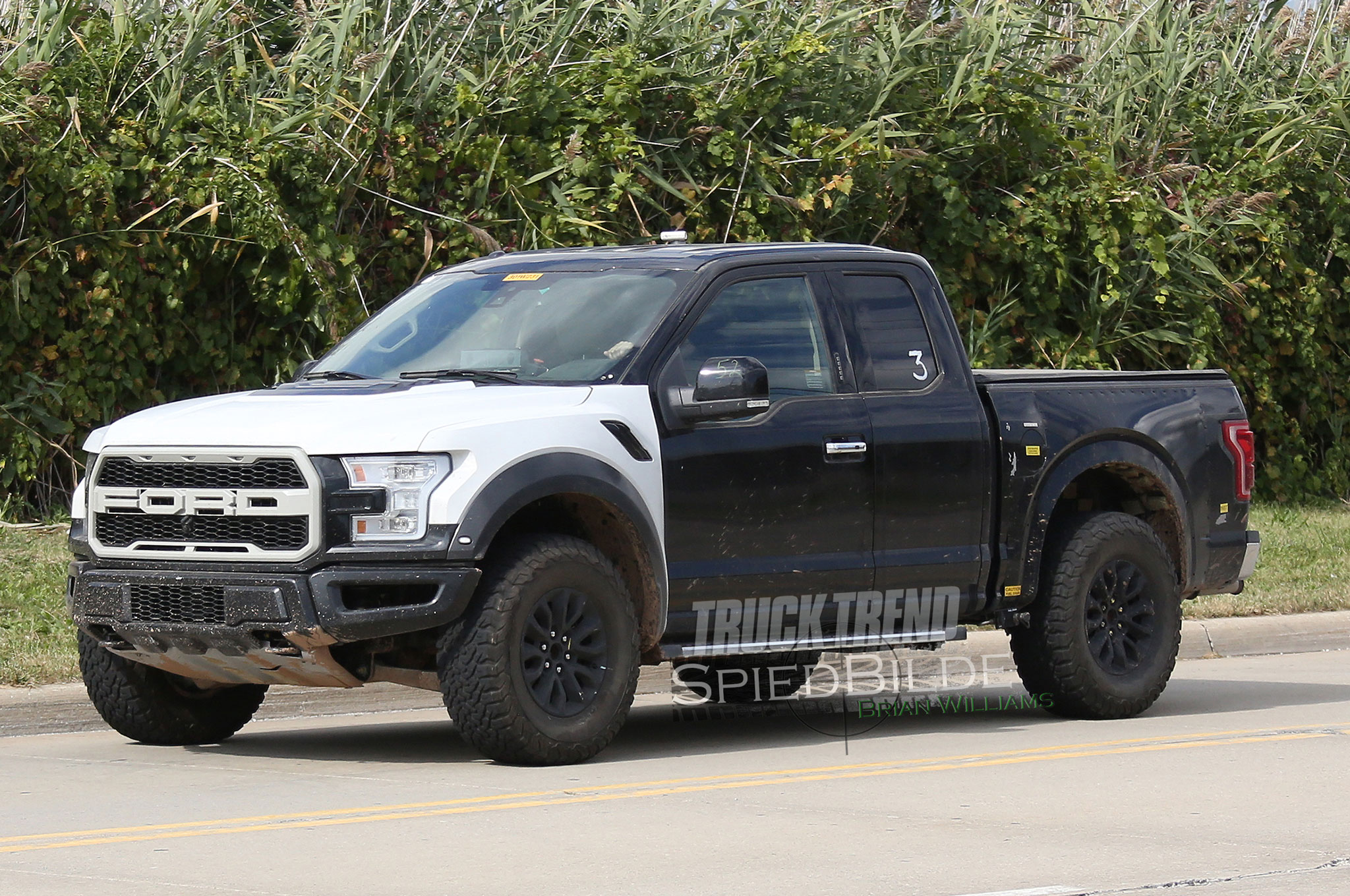 Caught! 2017 Ford F-150 Raptor Nearly Nude!