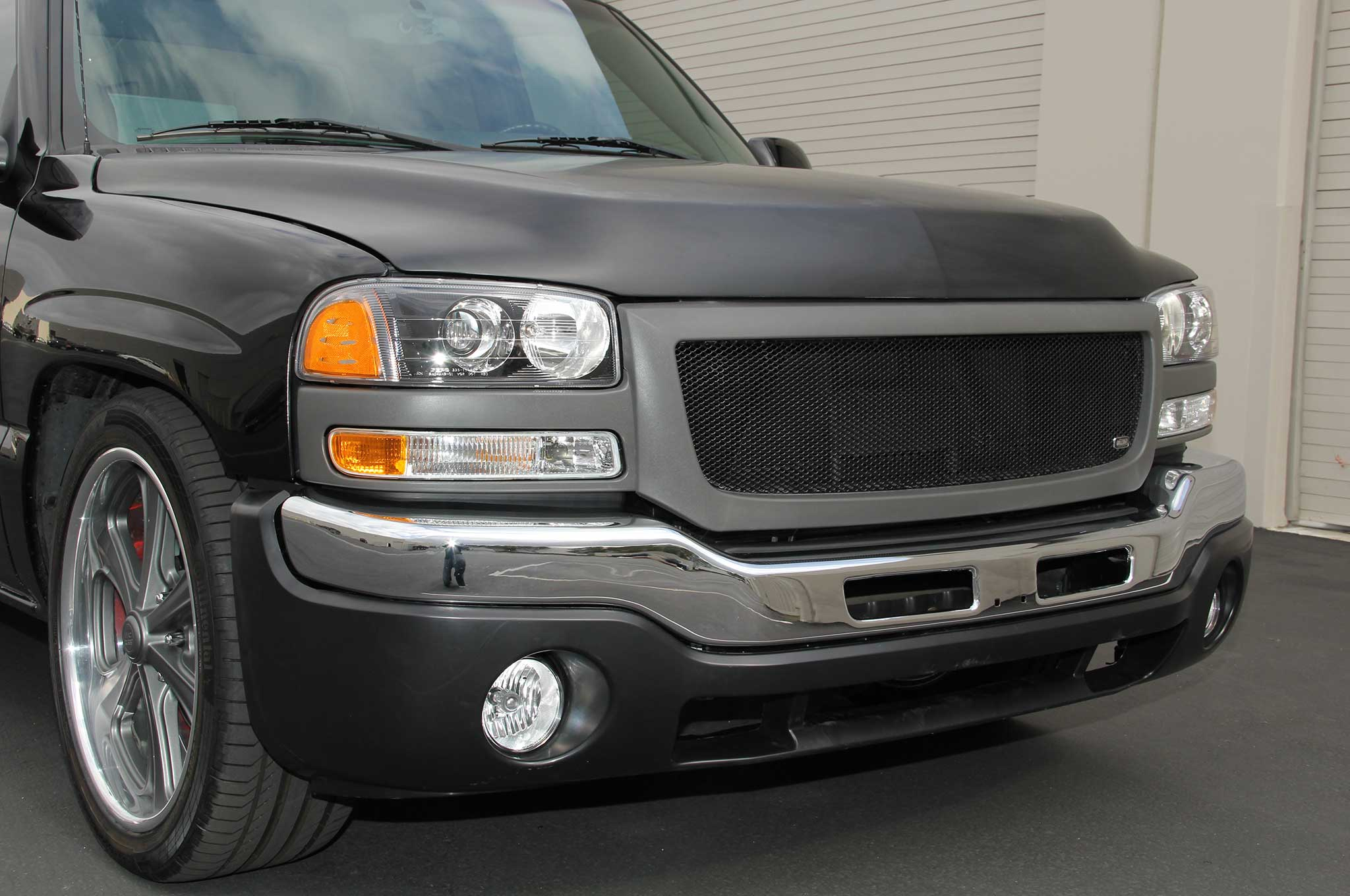 2002 gmc sierra front end update with lmc truck and grillcraft 2002 gmc sierra front end update with lmc truck and grillcraft