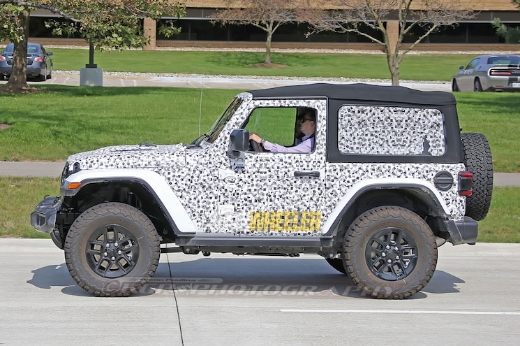 2018 Jeep Wrangler Jl Side Profile 02