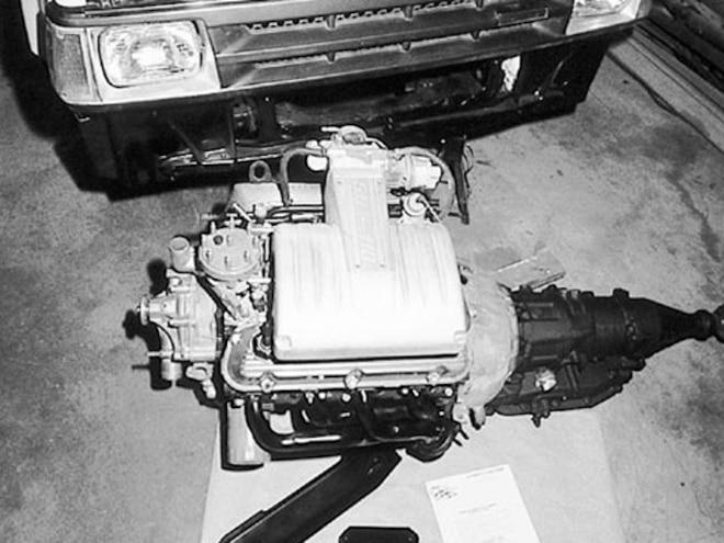 Mazda V8 Conversion Kit - Mustang 5 0 Engine Swap - Mini Truckin
