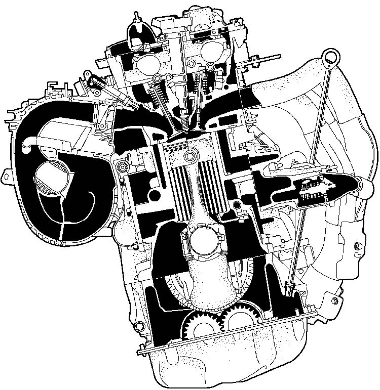2009 Toyota Highlander I 4 First Drive engine Layout View